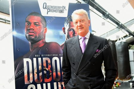 Stock Image of Frank Warren during the Daniel Dubois Media Day at Marles Stud on 25th August 2020