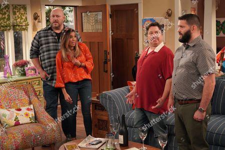 Will Sasso as Bill, Christina Vidal as Jo, Greg Romero Wilson as Benicio and Guillermo Díaz as Chuy