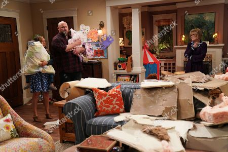Christina Vidal as Jo, Will Sasso as Bill and Jane Curtin as Sandy