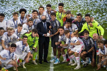 Editorial image of SL Benfica vs Real Madrid CF, Nyon, Switzerland - 25 Aug 2020