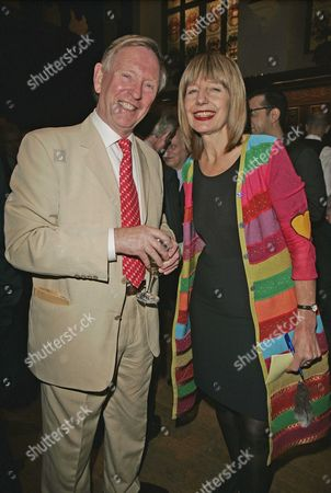 Carole Stone Networking Expert And Society Type With Husband Richard Lindley. Night Of Parties Network Party