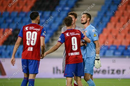 Editorial picture of FC Basel 1893 v FC Winterthur, Soccer Cup, Semi-final, Switzerland - 25 Aug 2020