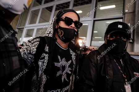 Editorial image of Ronaldinho arrives in Brazil after almost half a year in detention in Paraguay, Rio De Janeiro - 25 Aug 2020