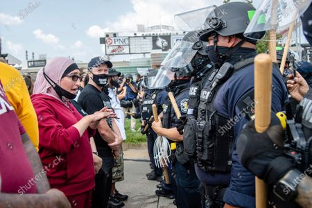 Editorial photo of Racial Injustice Breonna Taylor, Louisville, United States - 25 Aug 2020