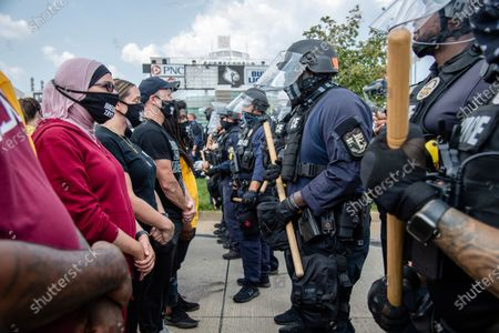 Editorial picture of Racial Injustice Breonna Taylor, Louisville, United States - 25 Aug 2020