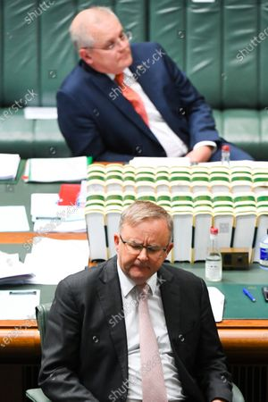 Editorial image of House of Representatives Question Time at Parliament House, Canberra, Australia - 26 Aug 2020