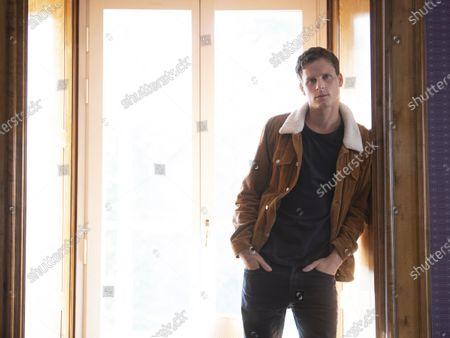"Swedish actor Adam Palsson plays detective Kurt Wallander in the Netflix series ""Young Wallander"""
