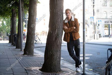 "Stock Image of Swedish actor Adam Palsson plays detective Kurt Wallander in the Netflix series ""Young Wallander"""
