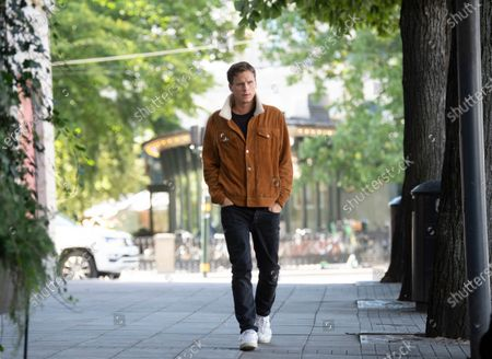 Editorial picture of 'Young Wallander' Netflix TV show photocall, Stockholm, Sweden - 25 Aug 2020