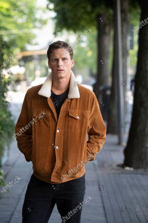 "Stock Picture of Swedish actor Adam Palsson plays detective Kurt Wallander in the Netflix series ""Young Wallander"""