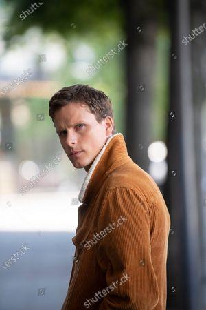 "Stock Photo of Swedish actor Adam Palsson plays detective Kurt Wallander in the Netflix series ""Young Wallander"""