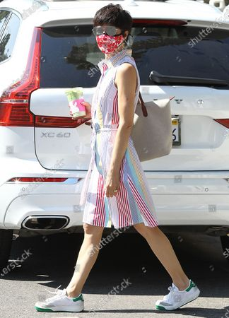 Editorial picture of Selma Blair out and about, Los Angeles, California, USA - 25 Aug 2020