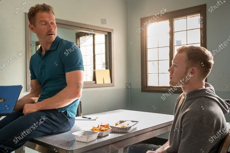 James Badge Dale as Detective Ray Abruzzo and Angus O'Brien as Ethan