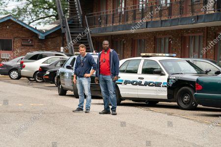 James Badge Dale as Detective Ray Abruzzo and Dohn Norwood as Alan Saintille