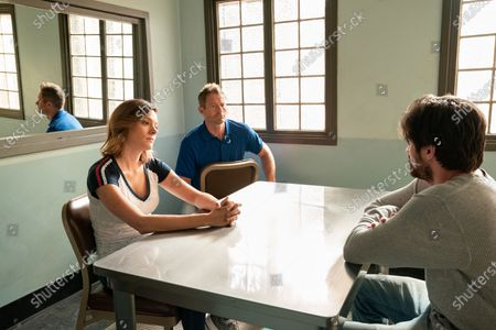 Tonya Glanz as Leslie Babcock, James Badge Dale as Detective Ray Abruzzo and Jeff Adler as Scott