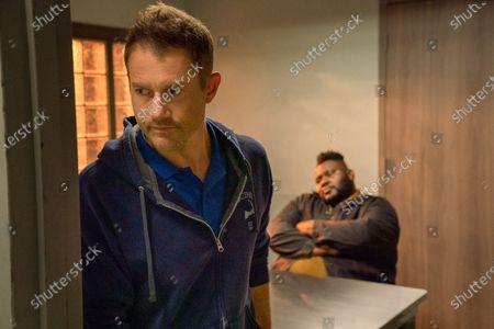 James Badge Dale as Detective Ray Abruzzo and Atkins Estimond as Osito