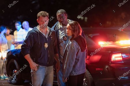 James Badge Dale as Detective Ray Abruzzo, Dohn Norwood as Alan Saintille and Monica Raymund as Jackie Quinones