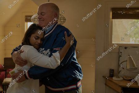 Monica Raymund as Jackie Quinones and Mike Pniewski as Ed Murphy