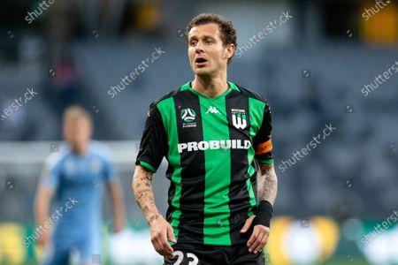 Western United midfielder Alessandro Diamanti (23)