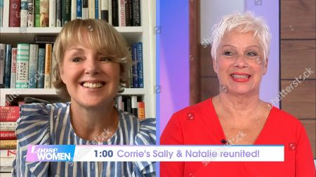 Sally Dynevor and Denise Welch