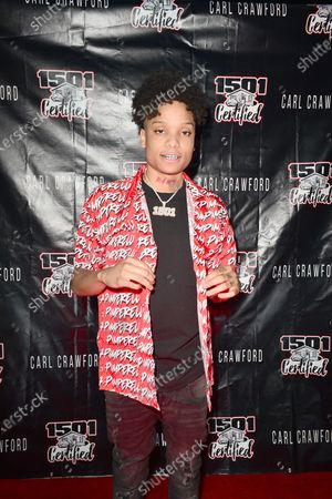 D-Raww attends the 1501 Backstage Pass Virtual Back To School Edition
