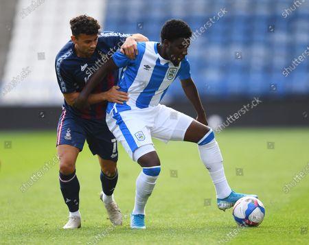 Editorial picture of Huddersfield Town v Bradford City, Pre-Season Friendly, Football, John Smith's Stadium, Huddersfield, UK - 26 Aug 2020