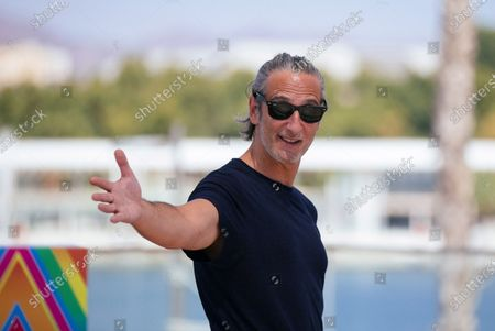 Argentine actor Ernesto Alterio poses during the presentation of the movie 'Cronica de una tormenta' (lit: chronicle of a storm) at the Official Category of the 23rd edition of Malaga Film Festival, in Malaga, Spain, 26 August 2020. The festival, running from 21 to 30 August, was postponed due to the coronavirus lockdown last March.