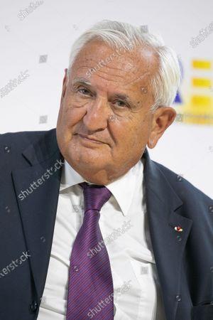 Stock Picture of Intervention by Jean-Pierre Raffarin