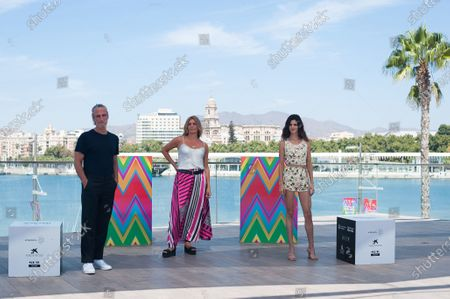 Editorial picture of Photocall of the film Crónica de una tormenta in Malaga, Spain - 26 Aug 2020