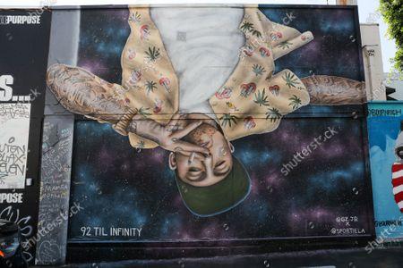 Editorial photo of Street Art, Los Angeles, USA - 26 Aug 2020