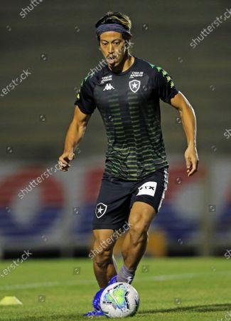 Keisuke Honda of Botafogo during warm-up
