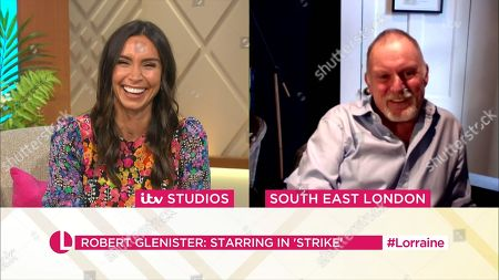 Editorial image of 'Lorraine' TV show, London, UK - 27 Aug 2020