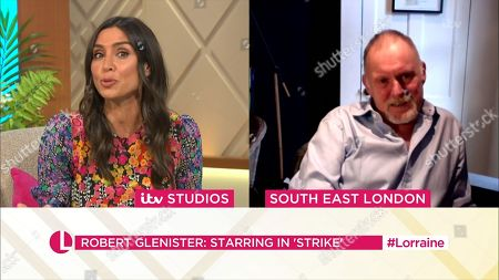 Christine Lampard and Robert Glenister