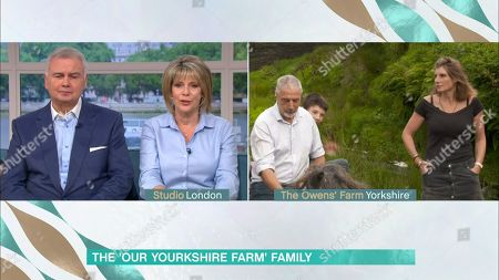 Stock Picture of Eamonn Holmes, Ruth Langsford, Clive Owen and Amanda Owen