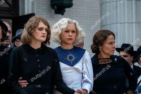 Gayle Rankin as Emily Dodson, Tatiana Maslany as Sister Alice McKeegan and Lili Taylor as Birdy McKeegan