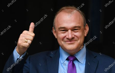 Editorial picture of Sir Ed Davey elected as leader of the Liberal Democratic Party, London, United Kingdom - 27 Aug 2020