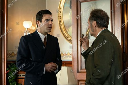 Zachary Quinto as Charlie Manx and Victor Slezak as Horace Haber