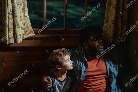 Jason David as Wayne McQueen and Jonathan Langdon as Lou Carmody