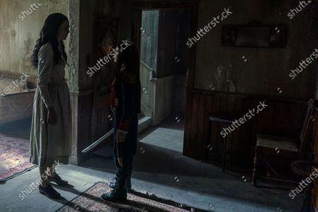 Celeste Arias as Cassie Manx and Mattea Conforti as Millie Manx