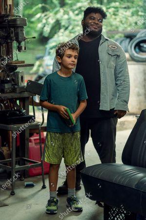 Jason David as Wayne McQueen as Jonathan Langdon as Lou Carmody