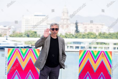 David Trueba poses during the presentation of the movie 'A este lado del mundo' (lit. this side of the world) at the Official Category of the 23rd edition of Malaga Film Festival, in Malaga, Spain, 27 August 2020. The festival, running from 21 to 30 August, was postponed due to the coronavirus lockdown last March.