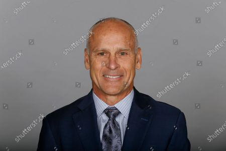 This is a 2020 photo of Mike Nolan of the Dallas Cowboys NFL football team. This image reflects the Dallas Cowboys active roster as of when this image was taken