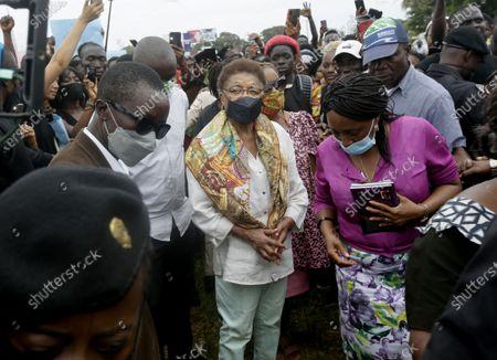 Editorial picture of Liberians stage anti-rape protest in Monrovia, Liberia - 27 Aug 2020