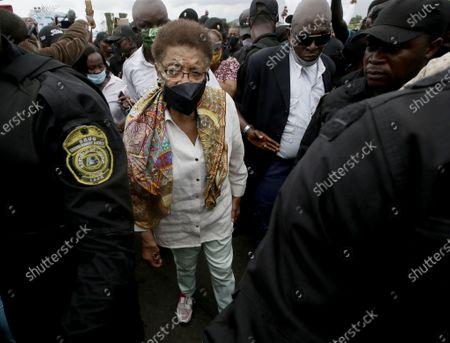 Editorial image of Liberians stage anti-rape protest in Monrovia, Liberia - 27 Aug 2020