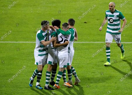 Editorial photo of UEFA Europa League First Qualifying Round, Tallaght Stadium, Dublin - 27 Aug 2020