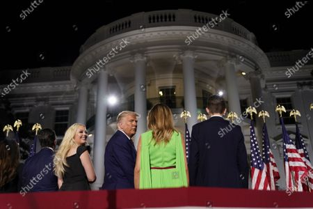 Editorial image of Republican National Convention closing night, Washington Dc, USA - 27 Aug 2020