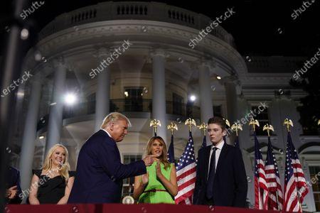 Editorial photo of Republican National Convention closing night, Washington Dc, USA - 27 Aug 2020