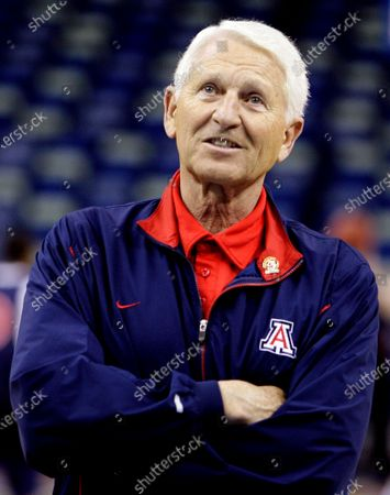 Editorial image of Obit Lute Olson Basketball, New Orleans, United States - 15 Mar 2007