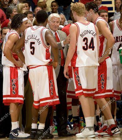 Editorial photo of Obit Lute Olson Basketball, Tucson, United States - 20 Dec 2006