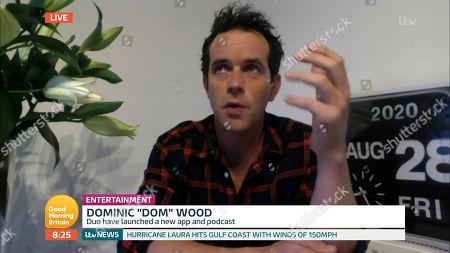 Editorial photo of 'Good Morning Britain' TV show, London, UK - 28 Aug 2020